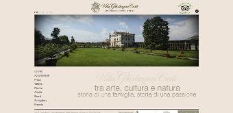 Sito www.villaghislanzoni.it